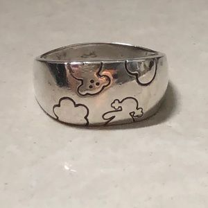 TOUS original silver ring